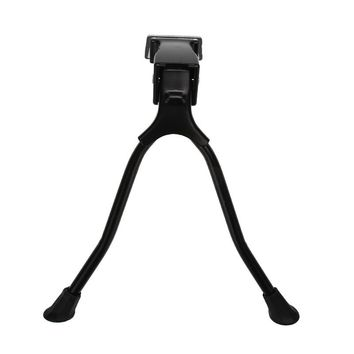 Stable Iron Double Leg Bicycle Racks Mount Kickstand MTB Road Bike Tripod Stand Support Bicycle Accessories
