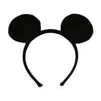 Genuine UPD Mickey Mouse Classic Ear Shaped Headband Disney Official Licensed Mickey Mouse Clubhouse
