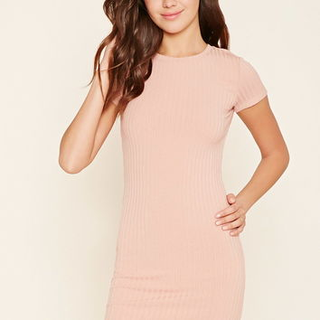 Cutout Back T-Shirt Dress