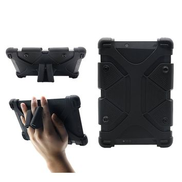 """Universal 8 inch Tablet Case, Shockproof Silicone Protective Stand Cover 7.9""""-9"""" for Alcatel A30 Tablet, LG G Pad X2 8.0 Plus, iPad Mini 1/2/3/4, Kindle Fire HD 7/HD 8/HDX, Samsung A 8"""