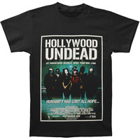 Hollywood Undead Men's  Humanity Has Lost All Hope T-shirt Black
