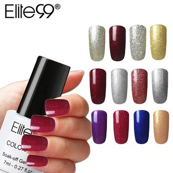 Elite99 Soak Off Nail Gel Polishes One Step Gel Varnish 7ml 3 In 1 UV Gel For Nail Extensions Without Base Top Coat Primer