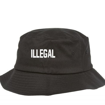 ILLEGAL EMBROIDERY Bucket Hat