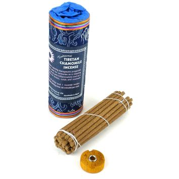 TIBETAN INCENSE - CHAMOMILE  - GLOBAL GROOVE TIBET
