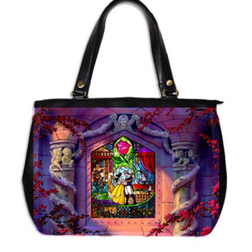 Beauty and the Beast tote bag  by Totalchaosbootique on Etsy