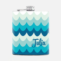 Personalized Bridesmaids gifts Custom name flask Bridesmaids flasks Womens Birthday Gift ideas For her