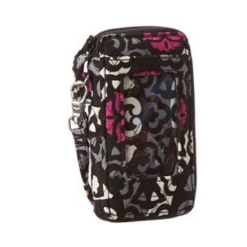 Vera Bradley All in One Wristlet Canterberry Magenta