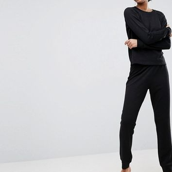 ASOS LOUNGE Sweat & Jogger Set at asos.com