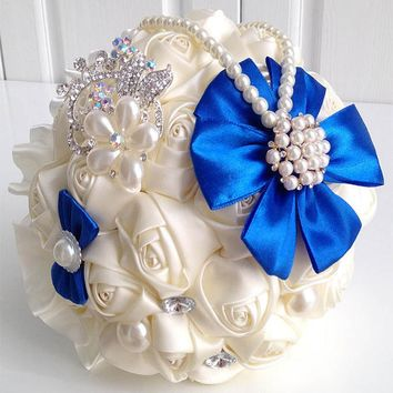 Hot wedding bridal bouquet bridesmaid bouquet for wedding decoration