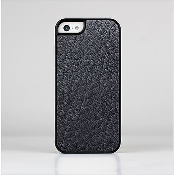 The Black Leather Skin-Sert for the Apple iPhone 5c Skin-Sert Case