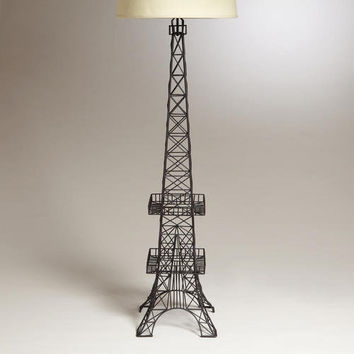 Eiffel Tower Floor Lamp Base World From Cost Plus World
