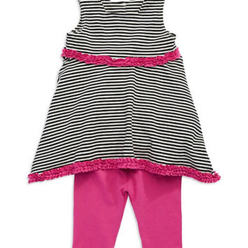 Pippa & Julie Baby Girls Two-Piece Dress Set