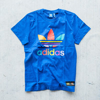 Adidas x Pharrell Supercolor Tee - Blue