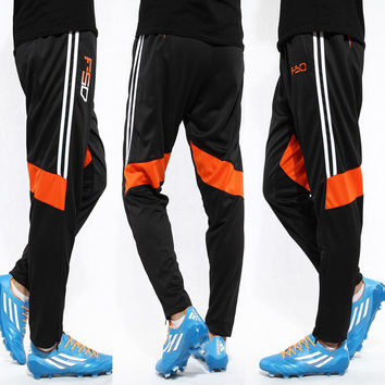 2016Men Soccer Training Pants sports jersey famous football team trousers sweatpants Gym skinny joggers Harem pantalones deporte