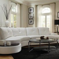 ONETOW talia contemporary sectional conversation sofa