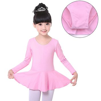 Kids Gown Dance Dresses Princess Baby Girl Leotard Bodysuit Dancewear Girl Dancing Clothes Children Girls Ballet Dress