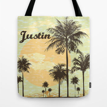 California Cool Monogram Tote Bag