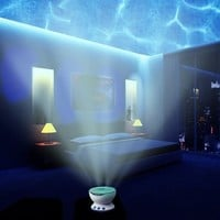 Romantic Led Night Light Projector Ocean Daren Waves Projector Projection Lamp lights With stereo audio Speaker Wave lamp