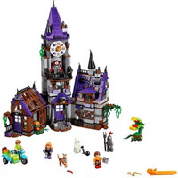Bela Scooby Doo Mystery Castle Courtyard Minifigures Building Blocks Compatible With Legoe Kids Toy Xmas Gift