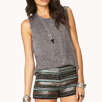 Glam Beaded Shorts