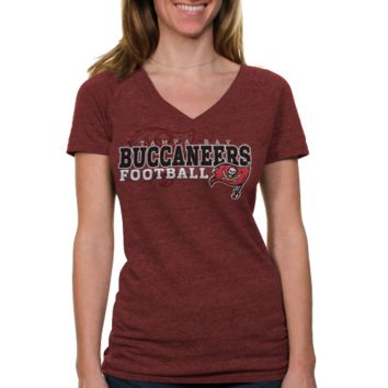 Touch by Alyssa Milano Tampa Bay Buccaneers Womens Big Play T-Shirt - Red