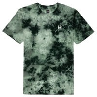 HUF - CRYSTAL WASH SCRIPT TEE FALL15 // GREEN