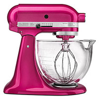 KitchenAid Artisan Design 5-Quart Tilt-Head Stand Mixer - Raspberry