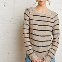 Stripe Textured Sweater