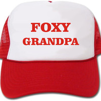 Foxy Grandpa Hat/Cap by crests on Etsy