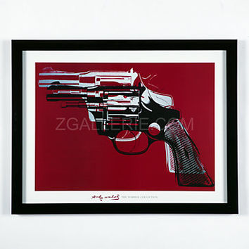 Andy Warhol - Guns | Framed Art | Art by Type | Art | Z Gallerie