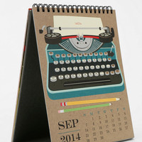 Urban Outfitters - Paper Source Art Easel 2014 Calendar