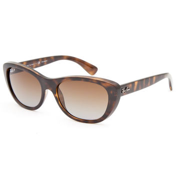 Ray-Ban Rb4227 Sunglasses Dark Brown One Size For Men 26422644601