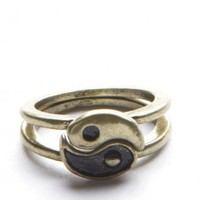 Brandy ♥ Melville |  Yin Yang Rings - Just In