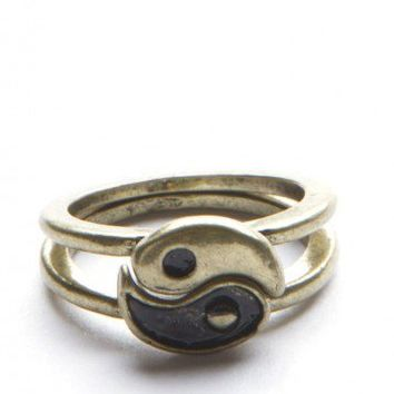 Brandy ♥ Melville |  Yin Yang Rings - Jewelry - Accessories