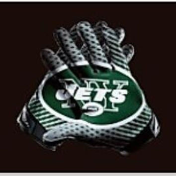 New York Jets football team pennant 90 * 150CM US flag decorated sports gloves 100D Super Bowl NFL flag logo free shipping