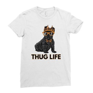 thug life Ladies Fitted T-Shirt