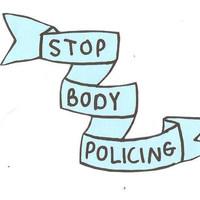 Stop Body Policing Sticker