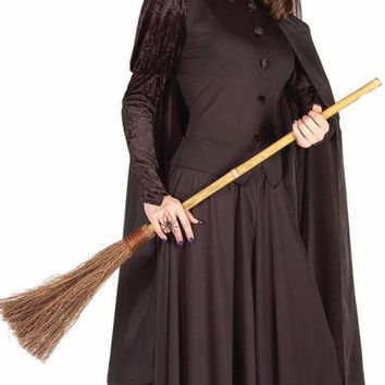 women's costume: classic witch