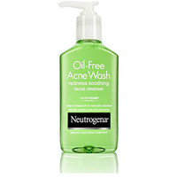 Walmart: Neutrogena Redness Soothing Facial Cleanser Oil-Free Acne Wash - 6 Fl Oz