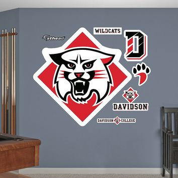 Fathead Davidson College Wildcats Wall Decals