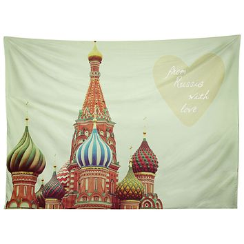 Happee Monkee From Russia With Love Tapestry