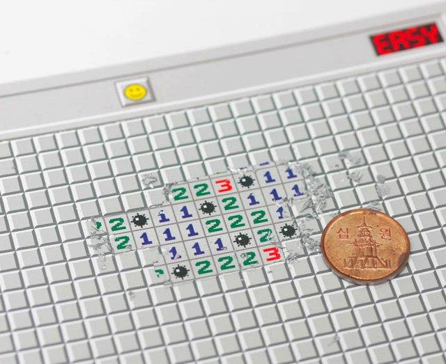 welcome connect design - minesweeper scratch card