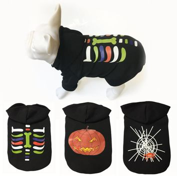 Halloween Festival Styles Pet Dog Clothes 3 Different Pictures S,m,l,xl Sizes for Choice Dog Sweaters Fashion Design Clothes Dog