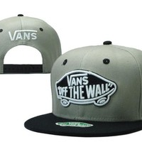 Vans Snapbacks Cap Snapback Hat - Ready Stock