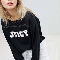 Juicy By Juicy Couture Logo Long Sleeve Top at asos.com