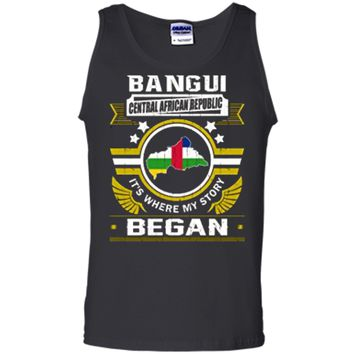 Bangui Central African Republic Shirt Tank Top