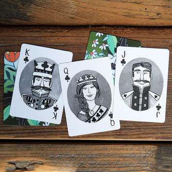 Artist Illustrated Playing Cards Standard 52 card deck