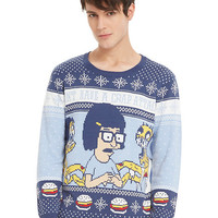 Bob's Burgers Tina Crap Attack Sweater