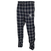New York Yankees - Logo Plaid Lounge Pants