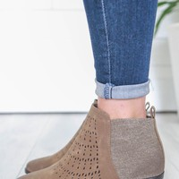 Freeda Booties - Taupe